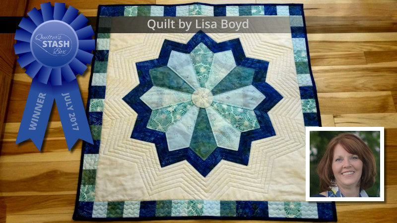 Quilter's Stash Box Contest Winner Lisa Boyd