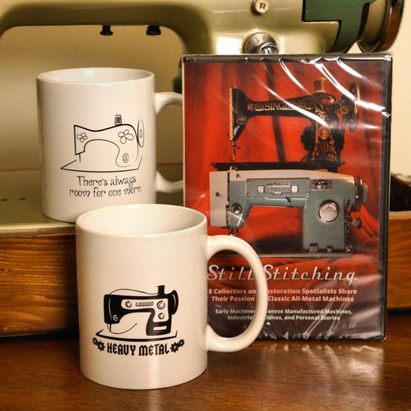 VSM Mugs with Still Stitching DVD
