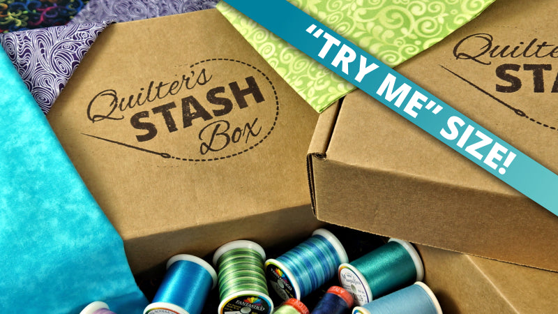 Buy the Try Me Sized Quilter's Stash Box