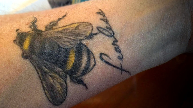 Bee Fearless - Maria's Tattoo