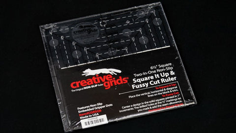 "Creative Grids 6.5"" Fussy Cut Ruler"