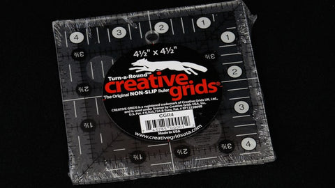 "Creative Grids 4.5"" Square Ruler"