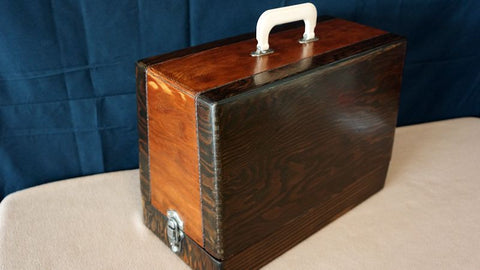 Vintage Case - Classic Browns w/ Braided Leather Accents