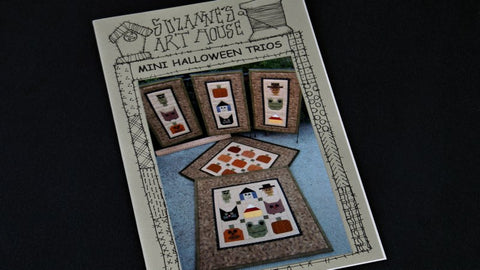 Suzanne's Art House Halloween Trio Minis pattern