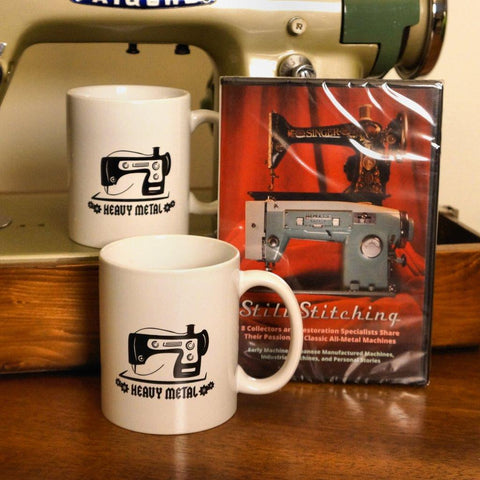 Still Stitching Bundle - 2 Mugs & DVD