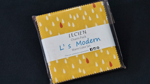 Lecien Fabric Charm Pack - Warm Colors