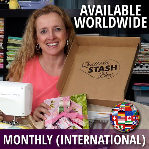 Quilter's Stash Box (Monthly International)