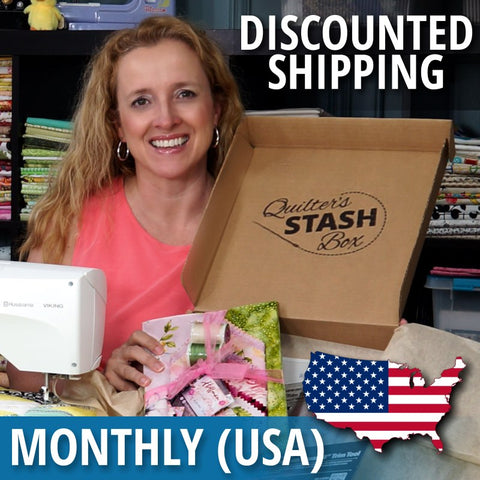 Quilter's Stash Box (Monthly USA)