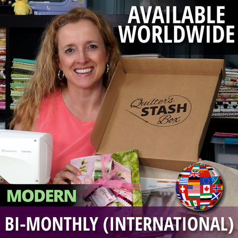 Quilter's Stash Box - Modern International