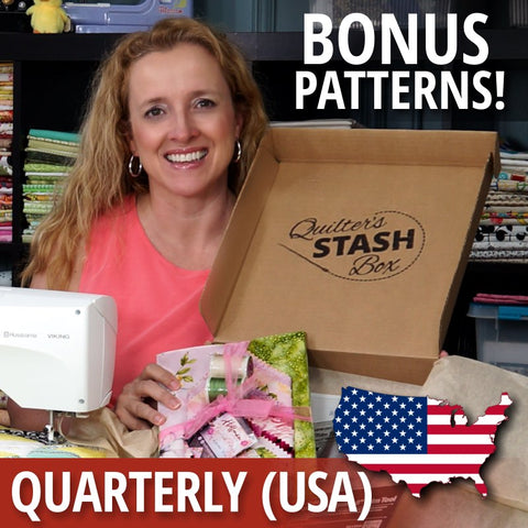 Quilter's Stash Box with Bonus Patterns (Quarterly USA)