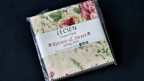Lecien Fabric Charm Pack - Rococo & Sweet