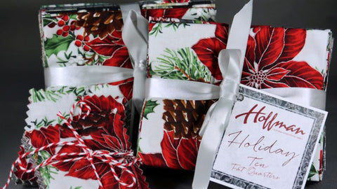 Hoffman Holiday Fabric Pre-Cuts