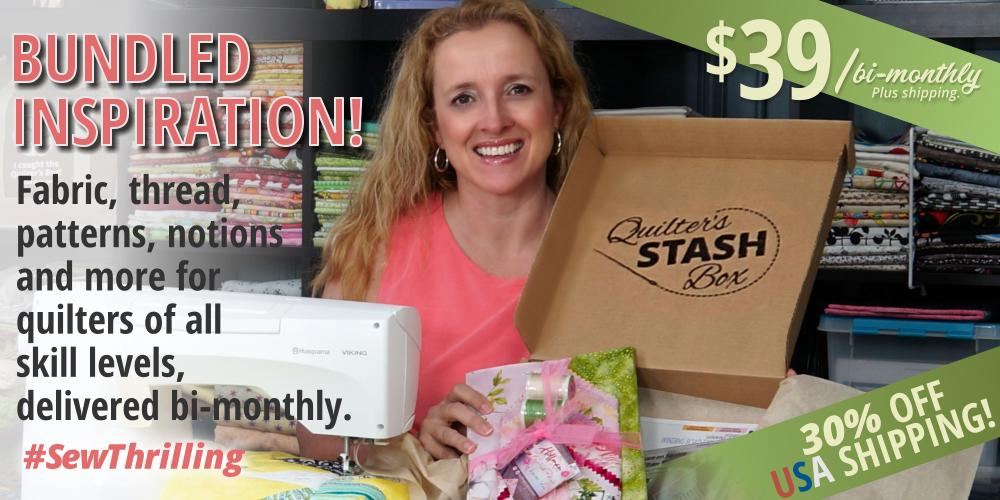 Free thread when you subscribe to Quilter's Stash Box!