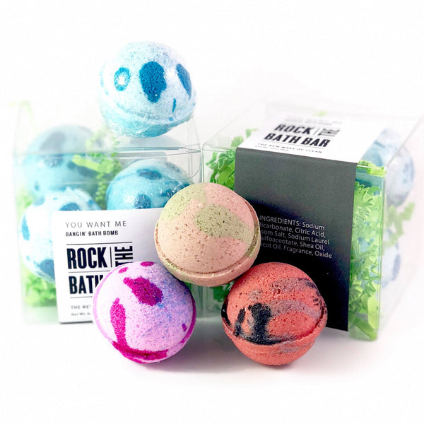 Mini Bodacious Bubble Bath Balls - Wholesale Only
