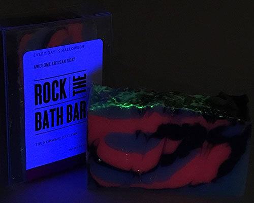Every day is halloween   handcrafted soap   rock the bath bar ...