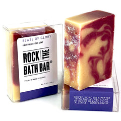 Blaze of Glory | Artisan Soap | 80's Inspired Soap | Bon Jovi