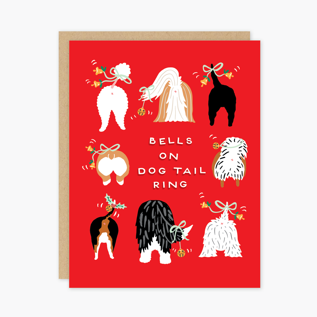 Dog Tails Holiday Card