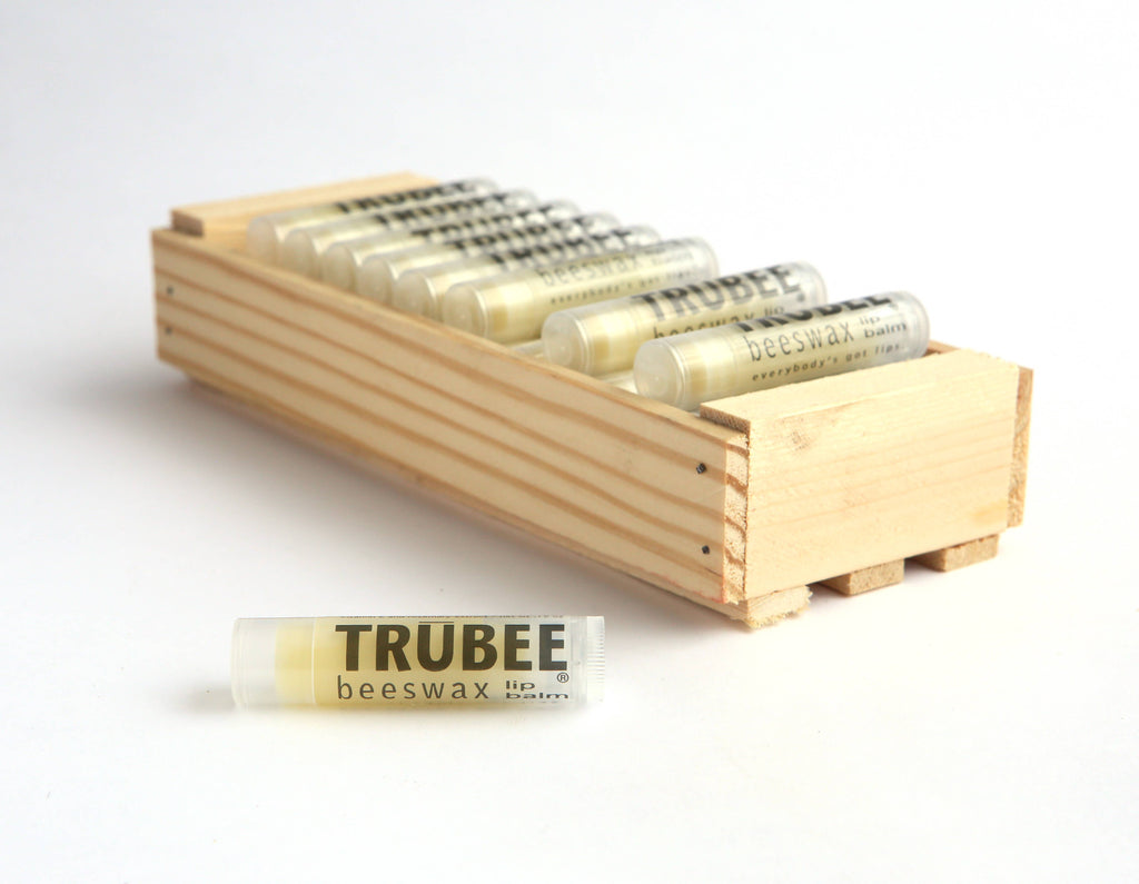 TruBee Honey- Beeswax Lip Balm
