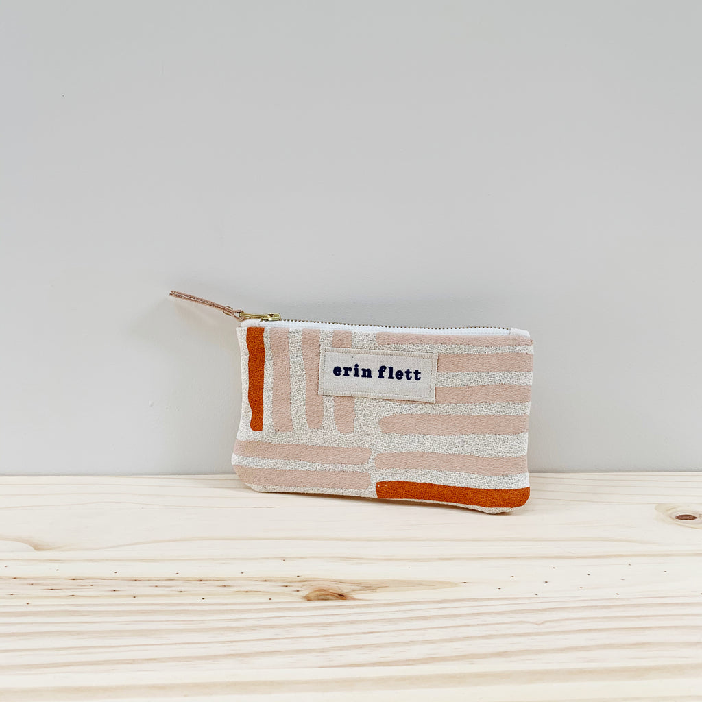 Erin Flett Wallet Zipper Bag