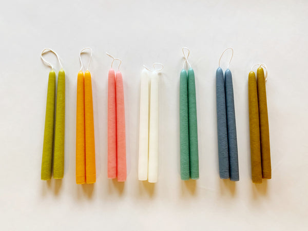 Mole Hollow - Hand-dipped Taper Candles