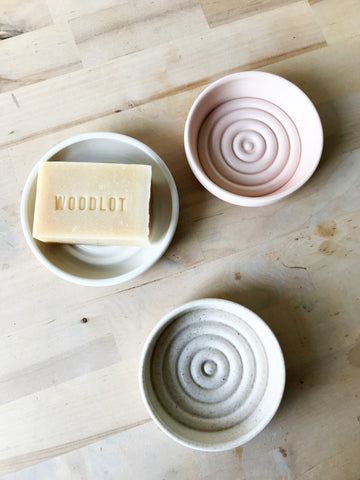 Handmade Ceramic Soap DIsh