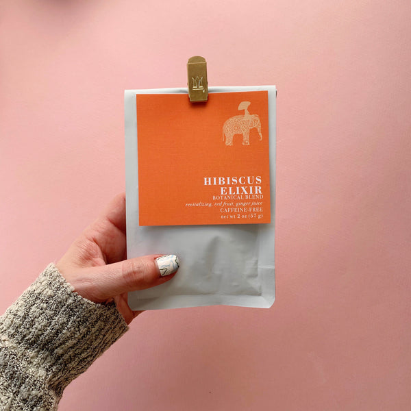 Hibiscus Elixer Botanical Loose Leaf Tea