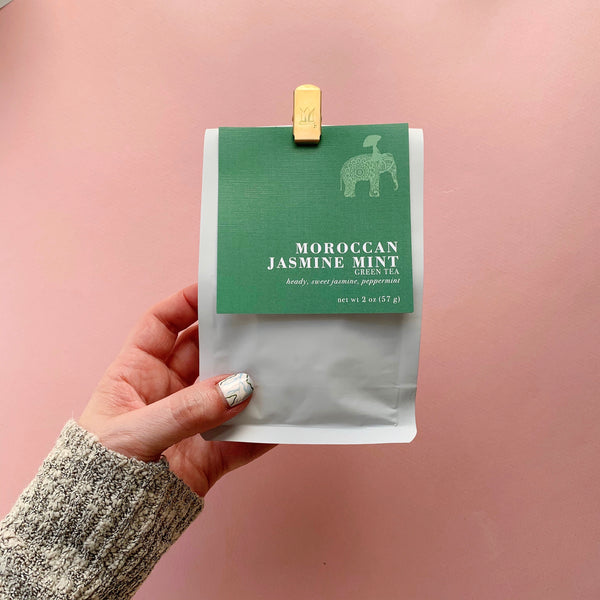 Moroccan Mint Loose Leaf Green Tea