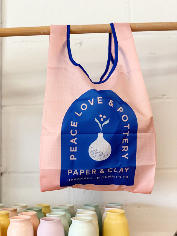 Paper & Clay Reusable Tote