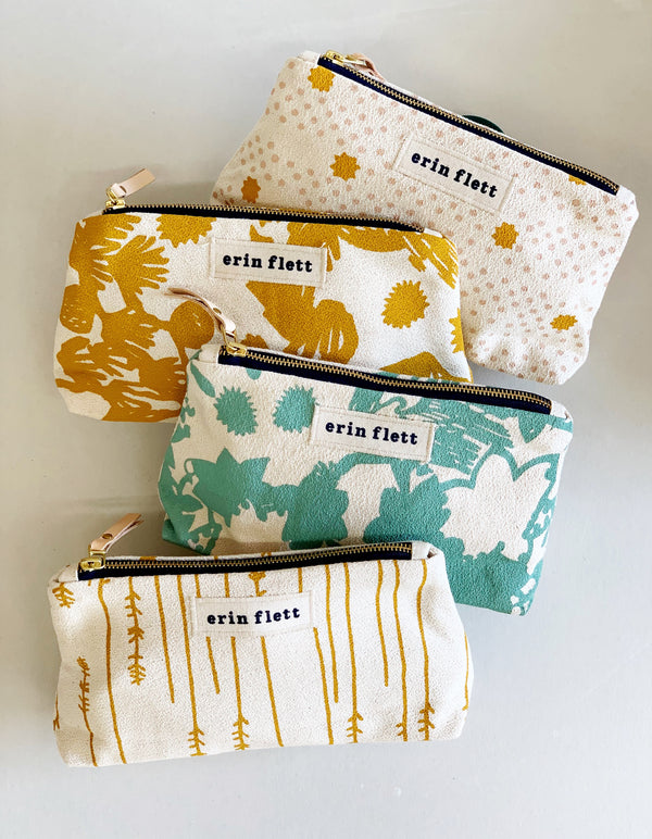Erin Flett Makeup Zipper Bag