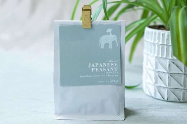Firepot Nomadic Teas - Japanese Peasant Loose Leaf Green Tea