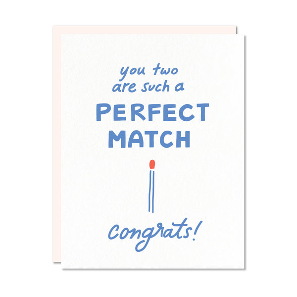 Odd Daughter Paper Co. - Perfect Match Card