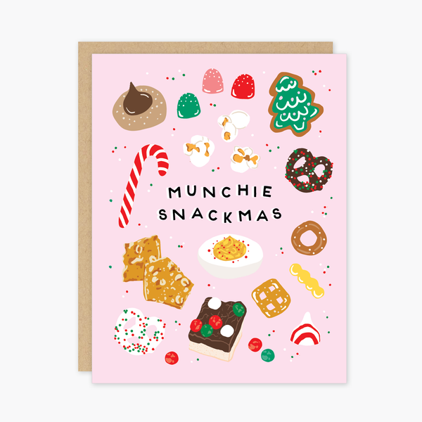 Snackmas Holiday Card
