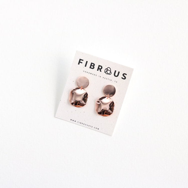 Fibrous - Golden Hour Earrings