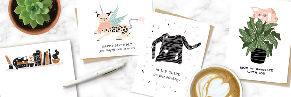 Party of One Greeting Cards