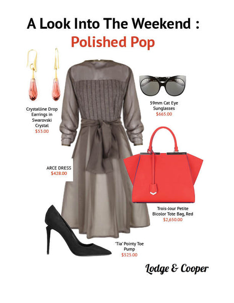 A Look Into The Weekend: Polished Pop