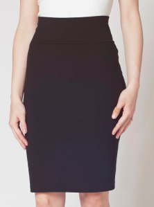 Tiffany Bean Perfect Pencil Skirt in Black Ponte $ 99.00