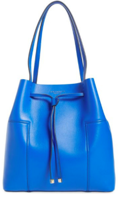 Tory Burch 'Block-T' Leather Drawstring Tote $ 425.00