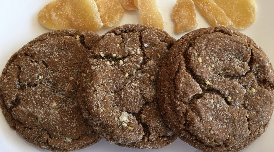 Ginger Orange Molasses Cookies