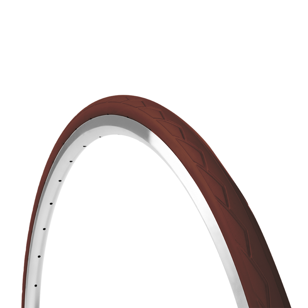 Tannus Solid Tire Semi-Slick: 700×28C
