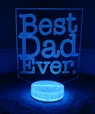 3D Color Changing LED Night Lights