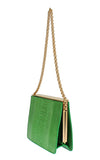 Dolce & Gabbana Ostrich leather Green Evening bag