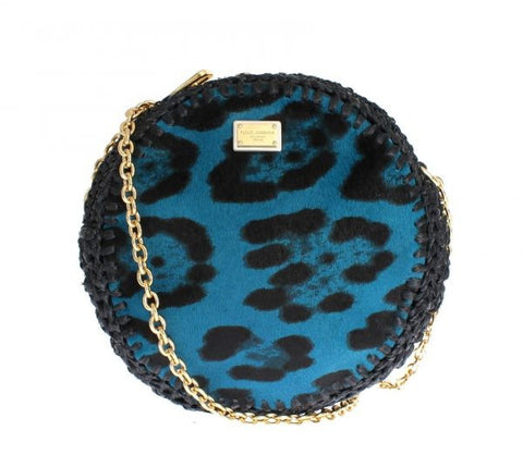 Multi coloured fabric round wallet/purse keyring