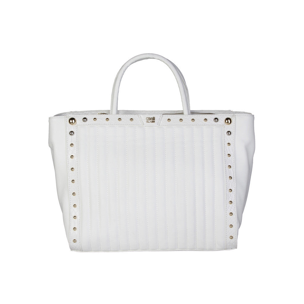 Cavalli Class Studded Shopping Bag