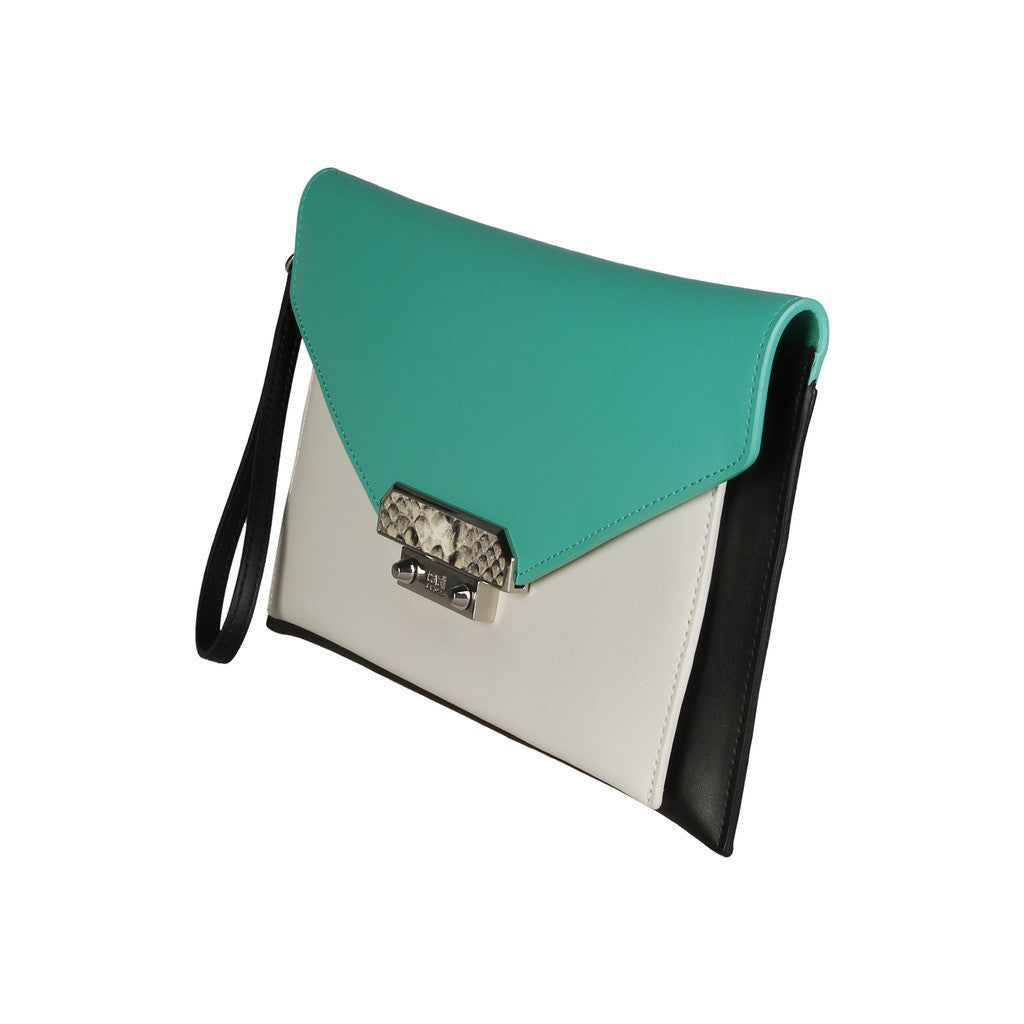 Cavalli Class Tri Coloured Wristlet, Green