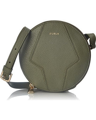 Furla Perla Mini Round Crossbody bag, pink