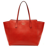 Gucci Swing Red Leather Tote