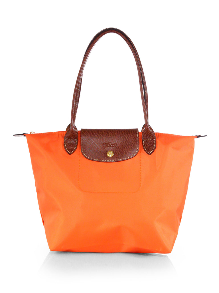 Longchamp Le Pliage Medium Shopper, orange
