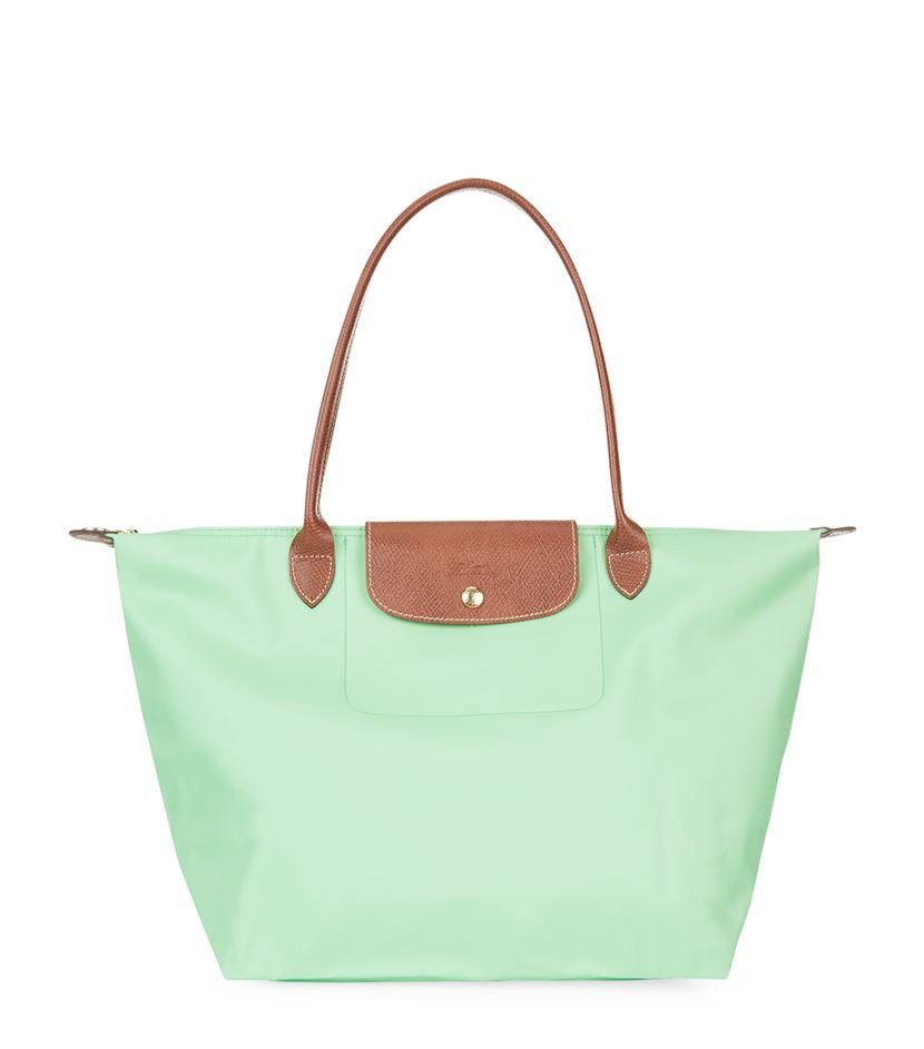 Longchamp Le Pliage Large Shopper, pistachio
