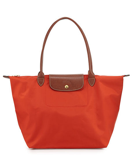 Longchamp Le Pliage Medium Shopper, poppy
