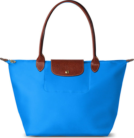 Longchamp Le Pliage Small Shopper, sky blue